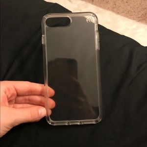 Clear iPhone 7/8 plus speck case